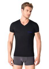 Emporio Armani Pánské tričko 110810 9P719 00020 černá - Emporio Armani