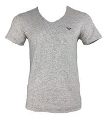 Emporio Armani Pánské tričko 111767 9P510 00048 šedá - Emporio Armani