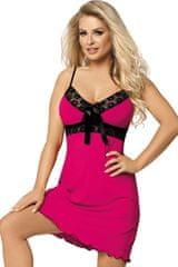 DKaren Dámská košilka Cassidy pink + dárek zdarma