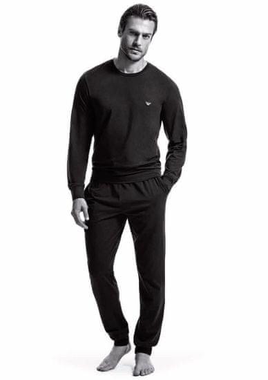 Emporio Armani Pánské pyžamo 111794 CC570 00020 černá - Emporio Armani černá S