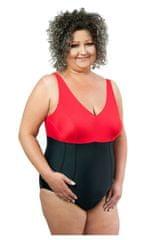 Spin Dámské jednodílné plavky 1021 black-red