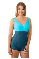 Spin Dámské jednodílné plavky 930 grey-turquoise