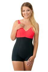 Spin Dámské jednodílné plavky 930 black-red