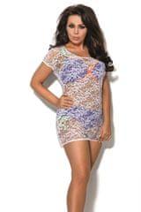 Ava Plážové šaty SP2 plus white + dárek zdarma
