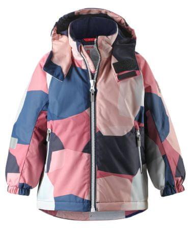 Reima dětská zimní bunda Maunu 92 růžová