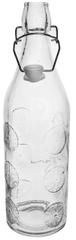 Orion Szklana butelka CLIP 1,1 l ORANGE 4 szt