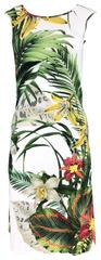 Favab Dámské šaty Jasina zeleno-bílá - Favab