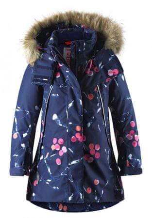 Reima dievčenská zimná bunda Muhvi 140, tmavomodrá