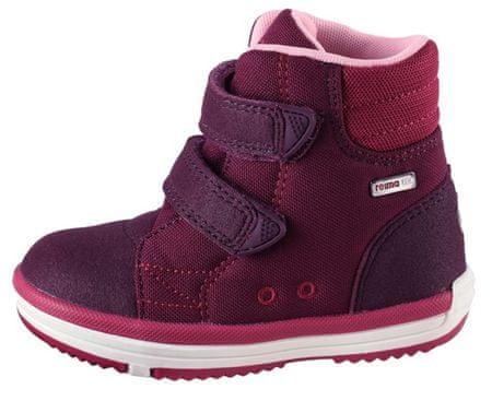 Reima dětské membránové boty Patter Wash 24, tmavě fialová