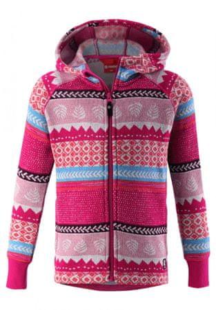 Reima lány fleece pulóver Northern 134 rózsaszín