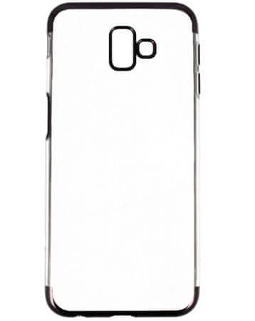 ovitek za Samsung Galaxy A10 A105, prozoren s črnim robom
