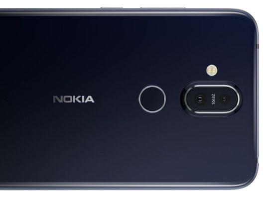Nokia 8.1, duální fotoaparát, vysoce citlivý snímač, umělá inteligence, bokeh efekt, stabilizace obrazu