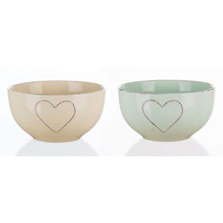 Banquet miska ceramiczna HEART 14 cm, mieszanka kolorów