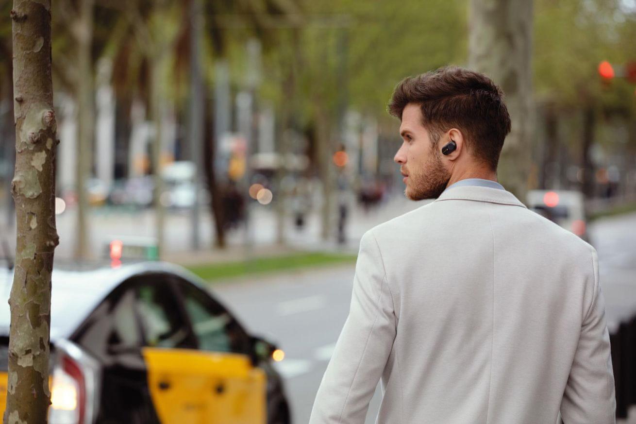bezdrátová sluchátka Sony WF-1000XM3 quick chargé rychlé nabíjení