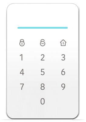 iGET SECURITY M4 biztonsági GSM rendszer, kódolt kommunikáció, távirányító, telefonon keresztül történő vezérlés, alkalmazás, Wi-Fi, Ethernet
