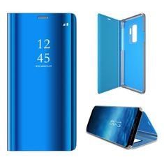 etui Onasi Clear View za Samsung A40 A405, plava