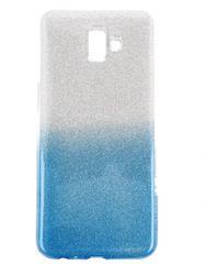 maska Bling za Samsung Galaxy A20e A202, srebrna, sa šljokicama