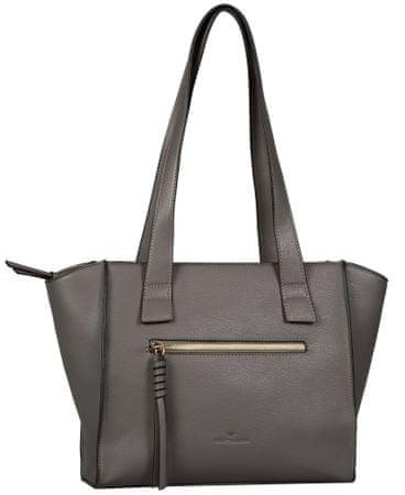 Tom Tailor torbica Katharina Shopper, siva