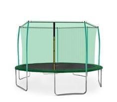 Aga Sport Fit Trampolina ogrodowa 430cm 14ft z siatką wewnętrzną - Dark Green