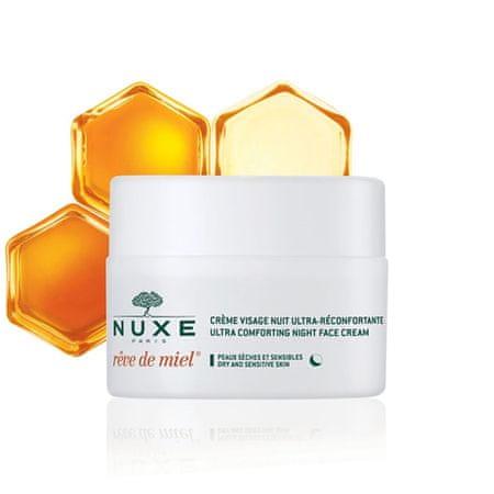 Nuxe Rêve de Miel Crème Visage Ultra-Réconfortante Nuit nočna bogata krema za obraz, 50 ml