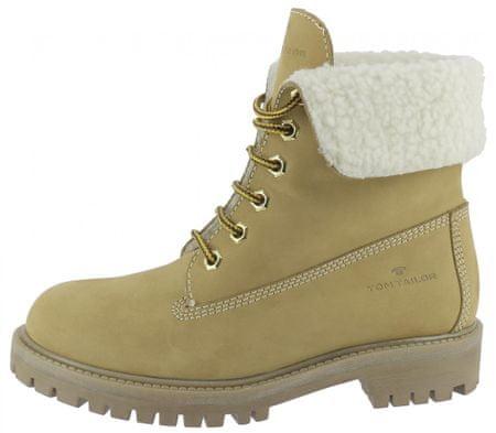 Tom Tailor dámská kotníčková obuv 7999602 36 hnědá
