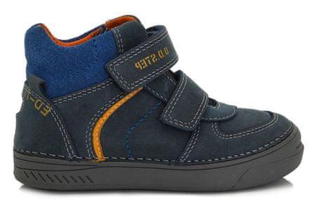 D-D-step chlapecké kotníkové boty 25.0 tmavě modrá