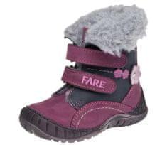 Fare dívčí zimní obuv 2146193