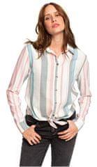 ROXY Koszula damska Przedmieście Vibes Stripe Snow White Retro pionowy ERJWT03343-WBK3