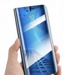 etui Onasi Clear View za Samsung Galaxy A20e A202, plava