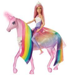 Mattel Barbie Varázslatos egyszarvú és baba