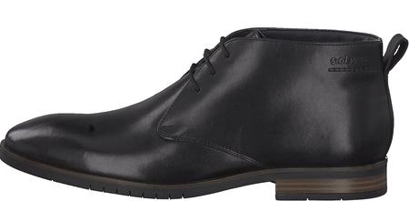 s.Oliver pánska členková obuv 15103 44 čierna