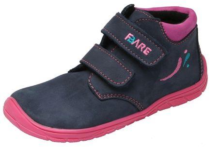 Fare dětské celoroční boty Fare Bare 5221211 30 tmavě modrá