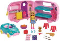 Mattel Barbie Chelsea lakókocsi