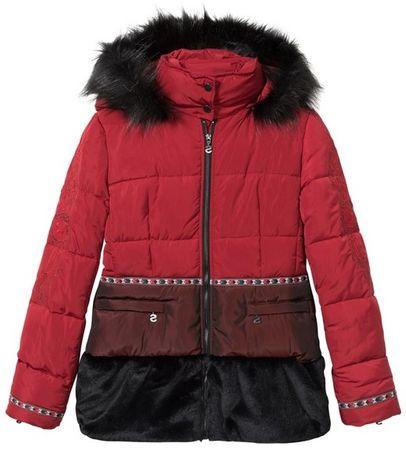 Desigual Padded Sakari női kabát 36 piros