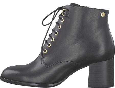 s.Oliver dámská kotníčková obuv 25104 36 černá