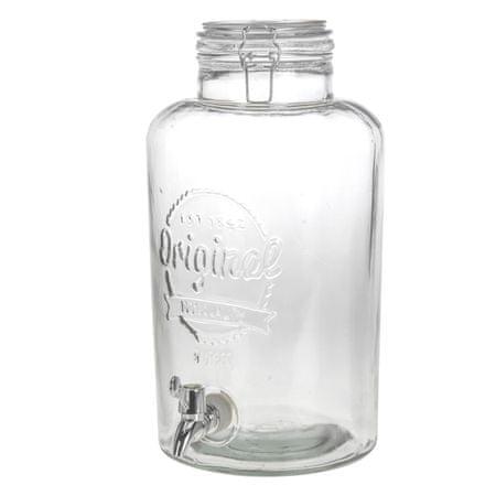 Orion Sklenená fľaša s kohútikom 8,7 l