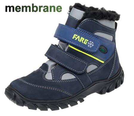 Fare chlapčenská zimná obuv 2644202 31 modrá