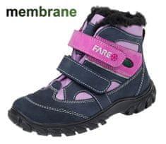 Fare dievčenská zimná obuv 2644253