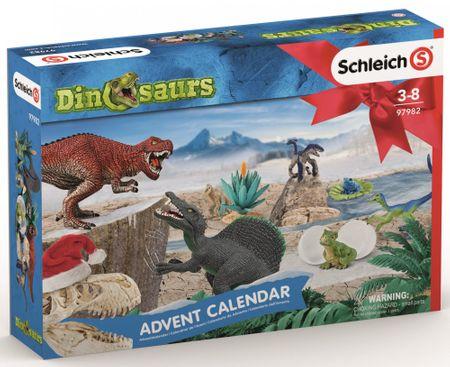 Schleich adventski kalendar 2019, Dinosauri