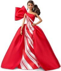 Mattel Barbie Karácsonyi baba, barna