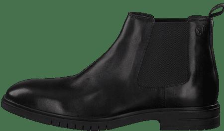 s.Oliver pánska členková obuv 15302 46 čierna