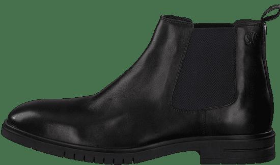 s.Oliver pánská kotníčková obuv 15302 46 černá