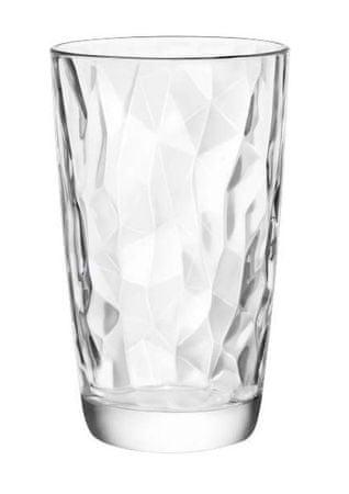 Bormiolli Pohár DIAMOND 470 ml áttetsző, 6 db