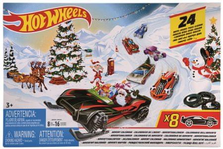 Hot Wheels Adventní kalendář FYN46