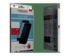 MyScreen Protector zaščitno steklo za iPhone Xr, črno