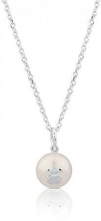 Tous Stříbrný náhrdelník s pravou perlou 517094500 (řetízek, přívěsek) stříbro 925/1000