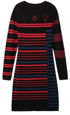Desigual Vest Janine ženska obleka, M, črna