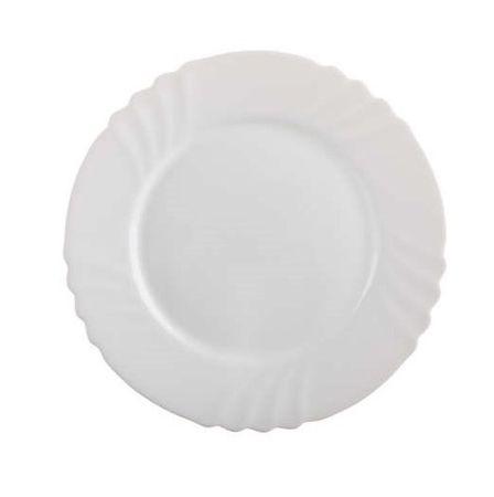 Bormiolli Üveg sekély tányér EBRO 25,5 cm, 6 db