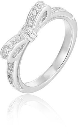 Beneto Srebrni prstan z mašnico AGG210 (Obseg 52 mm) srebro 925/1000