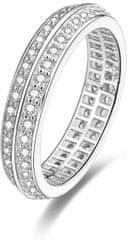 Beneto Srebrni prstan s kristali AGG203 srebro 925/1000